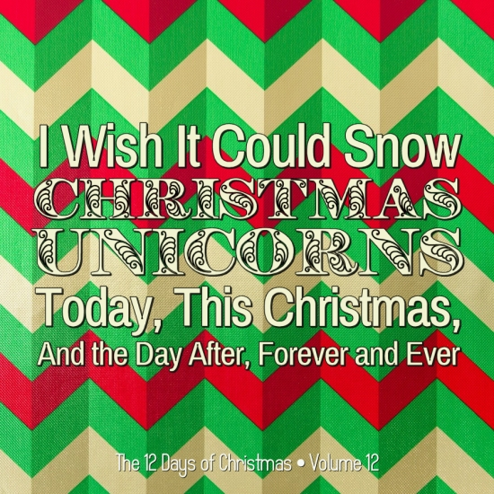 christmas unicorns