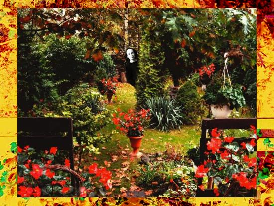 wariacja na jesienny ogród i japońskiego kompozytora